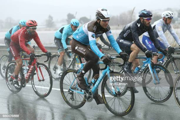 Tony Gallopin of France and AG2R La Mondiale during the 76th Paris Nice 2018 Stage 8 a 110km stage from Nice to Nice on March 11 2018 in Nice France