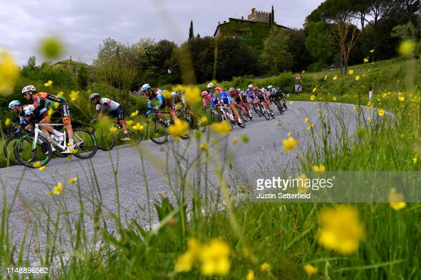 Tony Gallopin of France and Team AG2R La Mondiale / Ben Gastauer of Luxembourg and Team AG2R La Mondiale / Nans Peters of France and Team AG2R La...