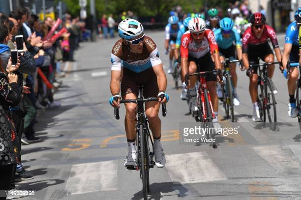 Tony Gallopin of France and Team AG2R La Mondiale / during the 102nd Giro d'Italia 2019, Stage 7 a 185km stage from Vasto to L'Aquila 705m / Tour of...