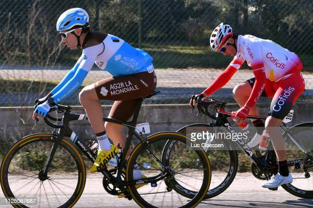 Tony Gallopin of France and Team AG2R La Mondiale / Julien Simon of France and Team Cofidis Solutions Crédits / during the 4th Tour de La Provence...