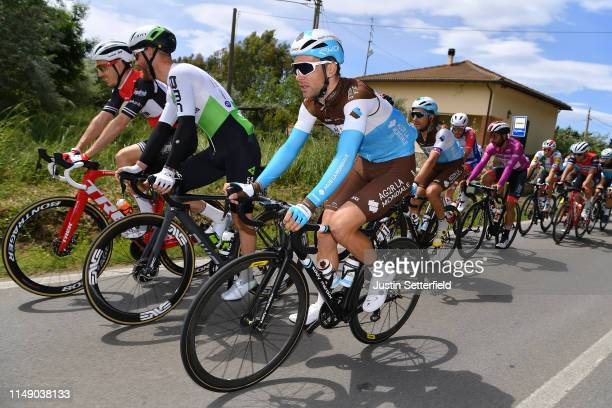 Tony Gallopin of France and Team AG2R La Mondiale / Peloton / during the 102nd Giro d'Italia 2019, Stage 4 a 235km stage from Orbetello to Frascati...