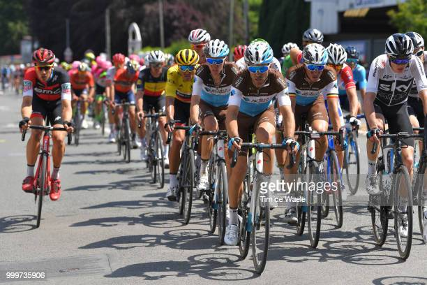 Tony Gallopin of France and Team AG2R La Mondiale / Romain Bardet of France and Team AG2R La Mondiale / Oliver Naesen of Belgium and Team AG2R La...