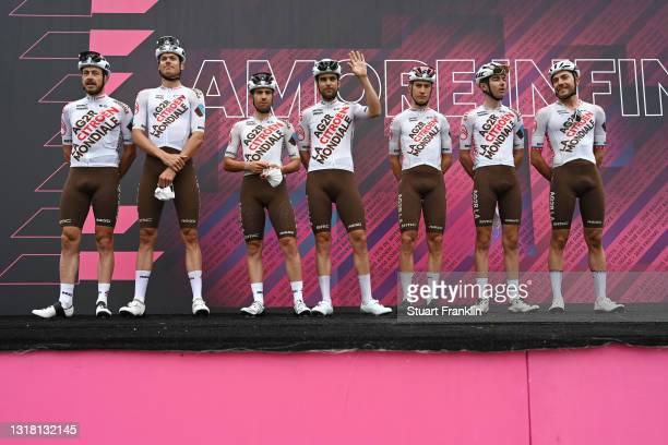 Tony Gallopin of France, Francois Bidard of France, Geoffrey Bouchard of France, Clement Champoussin of France, Alexis Gougeard of France, Lawrence...