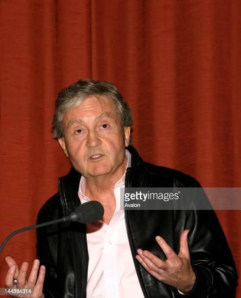 Tony Garnett at the British Film Institute. Tony Garnett is attending as a panellist, a debate event during, The London Film School 50th anniversary...