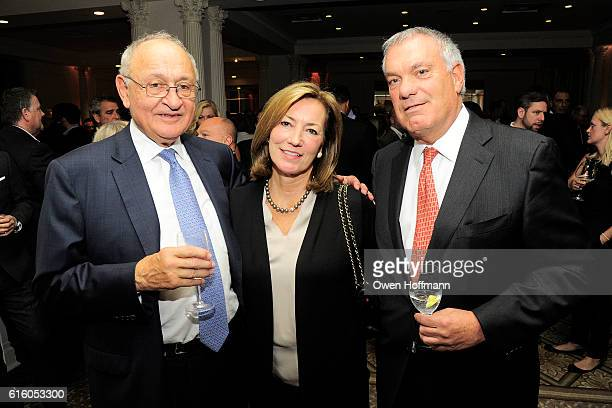 Tony Garvening Donna Rocco and Tom Rocco attend An Evening Honoring Joe Namath at The Plaza Hotel on October 20 2016 in New York City