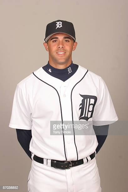 Tony Giarratano of the Detroit Tigers during photo day at Marchant Stadium on February 26 2006 in Lakeland Florida