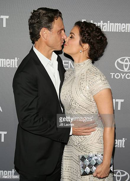 Tony Goldwyn and Bellamy Young attend the Celebration of ABC's TGIT Lineup presented by Toyota and cohosted by ABC and Time Inc's Entertainment...