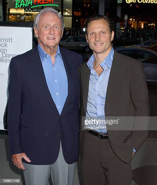 Tony Goldwyn and Dad during 'The Last Kiss' Los Angeles Premiere Arrivals at Directors Guild of America in Hollywood California United States