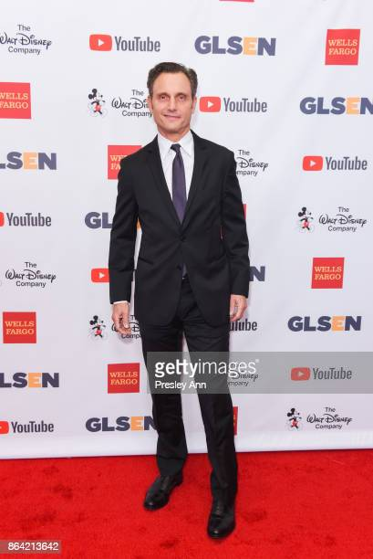 Tony Goldwyn attends 2017 GLSEN Respect Awards Arrivals at the Beverly Wilshire Four Seasons Hotel on October 20 2017 in Beverly Hills California