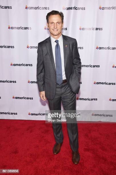 Tony Goldwyn attends the 2017 Americares Airlift Benefit at Westchester County Airport on October 14 2017 in Armonk New York
