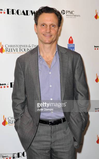 Tony Goldwyn attends the 3rd Annual Christopher Dana Reeve Foundation Born For Broadway Benefit at the American Airlines Theatre on May 21 2012 in...