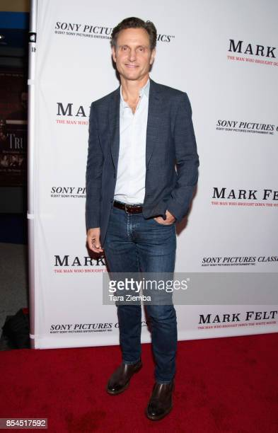 Tony Goldwyn attends the premiere of Sony Pictures Classics' 'Mark Felt The Man Who Brought Down The White House' at Writers Guild Theater on...