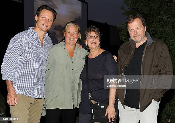 Tony Goldwyn Jane Musky Jane Jenkins and Executive producer StevenCharles Jaffe attend The Academy of Motion Picture Arts and Sciences' Oscars...