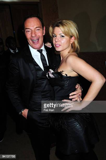Tony Gomez from the Queen Club and Cindy Lopes from Secret Story 3 attend the Trophees de la Nuit 2009 at the Palace on November 23 2009 in Paris...