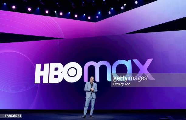 Tony Goncalves Chief Executive Officer of Otter Media speaks onstage at HBO Max WarnerMedia Investor Day Presentation at Warner Bros Studios on...