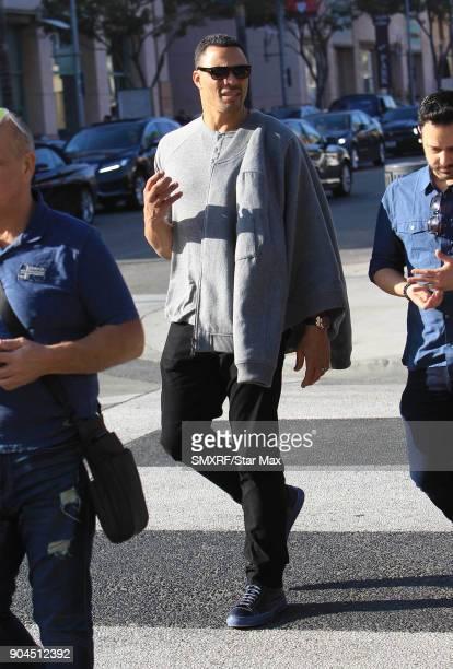 Tony Gonzales is seen on January 12 2018 in Los Angeles CA