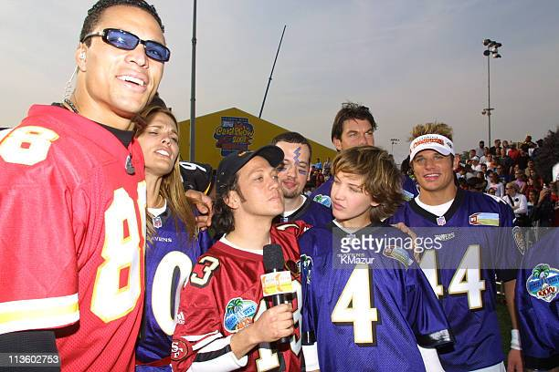 Tony Gonzalez Molly Sims Rob Schneider Collen Haskell 98 Degrees