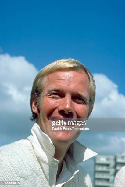 Tony Greig of Sussex on September 7, 1975 in Hove, England.