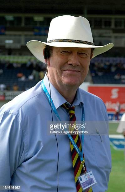 Tony Greig, West Indies v England, 1st Test , Kingston, Mar 04.