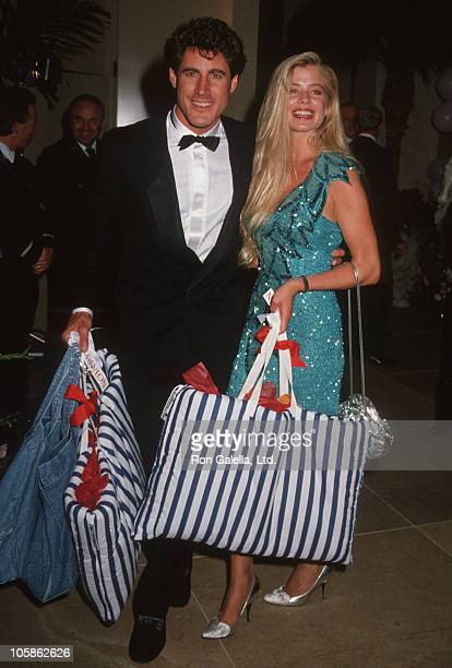 Tony Griffin and Tricia Gist during 1990 Carousel of Hope Ball at Beverly Hilton Hotel in Beverly Hills California United States