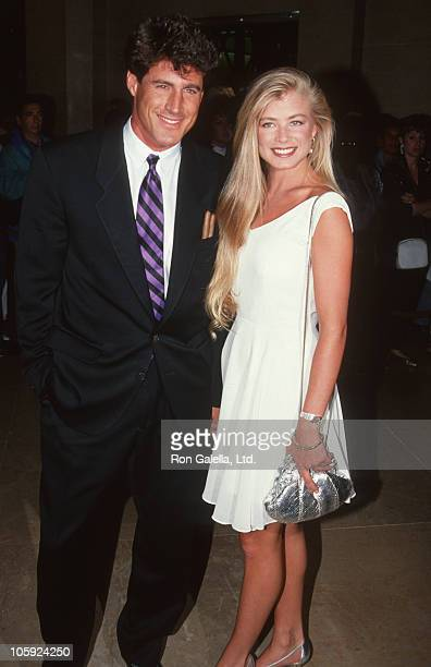 Tony Griffin and Tricia Griffin during Merv Griffin Party at Beverly Hilton Hotel in Beverly Hills California United States