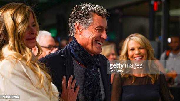 Tony Griffin Tricia Griffin and Vanna White attend the 50th Anniversary Of The Merv Griffin Show at Sony Pictures Studios on November 19 2015 in...