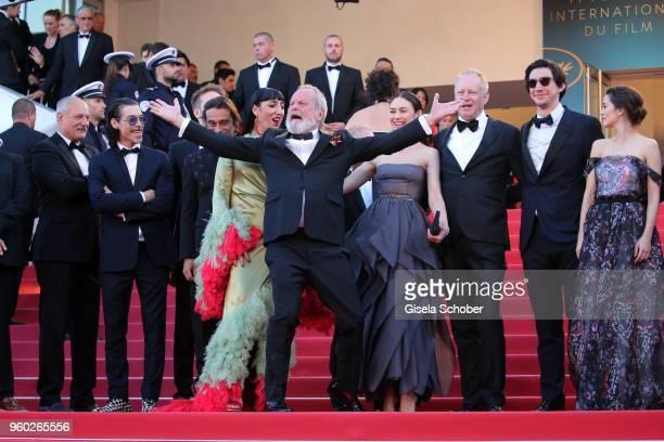 Tony Grisoni Jordi Molla Rossy de Palma Terry Gilliam Stellan Skarsgard Olga Kurylenko Adam Driver Joana Ribeiro attends the screening of 'The Man...