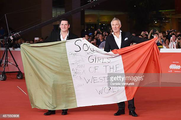 Tony Hadley and Martin Kemp attend 'Soul Boys of the Western World' Red Carpet during the 9th Rome Film Festival at Auditorium Parco Della Musica on...
