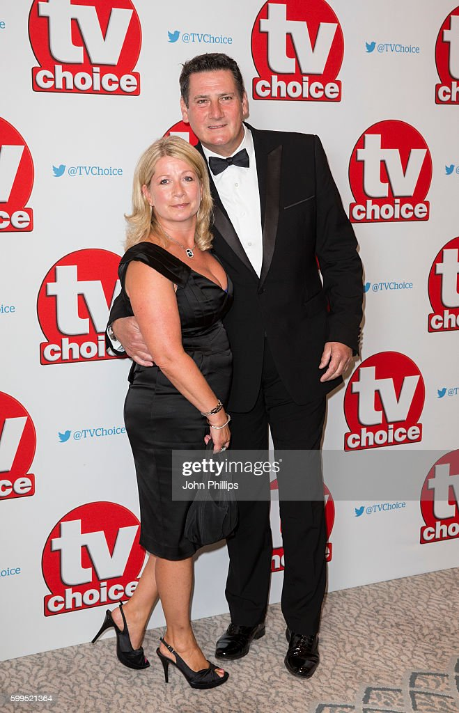 TVChoice Awards - Red Carpet Arrivals : News Photo