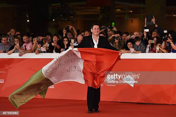 Tony Hadley attends 'Soul Boys of the Western World' Red Carpet during the 9th Rome Film Festival at Auditorium Parco Della Musica on October 20 2014...