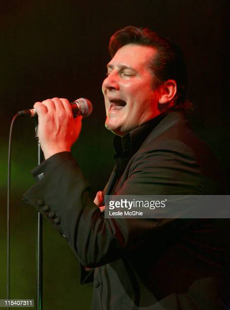 Tony Hadley during Tony Hadley Charity Concert to Benefit The Lowes Syndrome Trust December 29 2005 at Croydon Fairfield Halls in London Great Britain