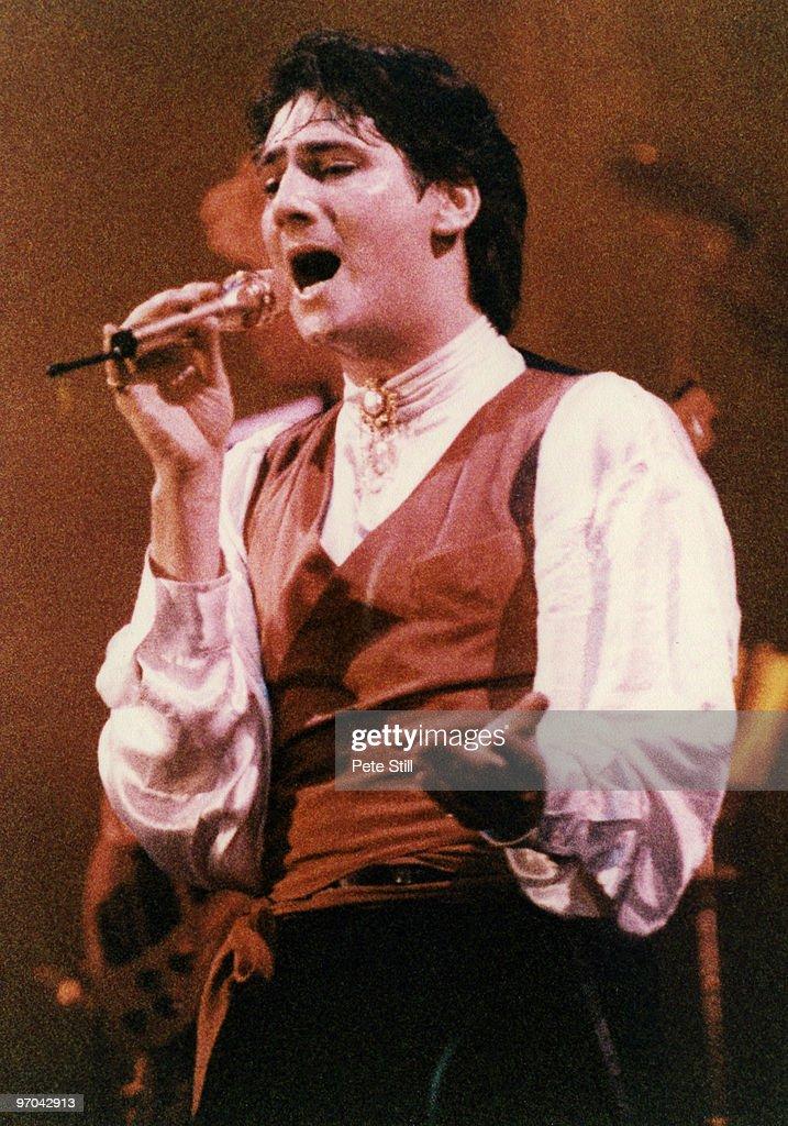 Spandau Ballet Perform At Wembley Arena in 1984 : News Photo