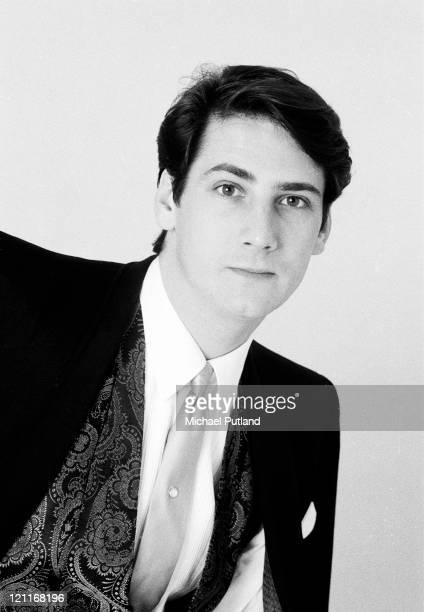 Tony Hadley of Spandau Ballet studio portrait London May 1983