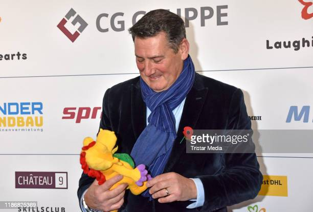 Tony Hadley of the band Spandau Ballet during the 11th Laughing Hearts Charity Gala at Grand Hyatt Hotel on November 9, 2019 in Berlin, Germany.