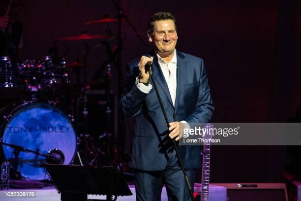 Tony Hadley performs at London Palladium on October 16 2018 in London England