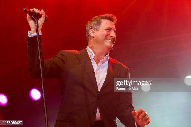 Tony Hadley performs in Marbella Puente Romano on August 10 2019 in Marbella Spain