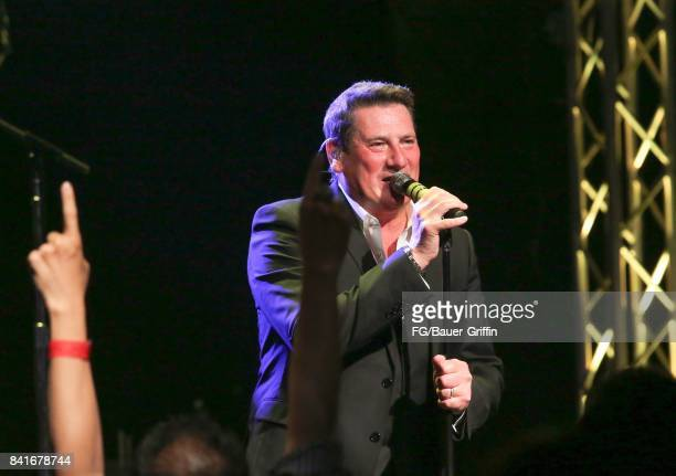 Tony Hadley plays to 300 people at the Rose in Pasadena after splitting with his old band Spandau Ballet on August 31 2017 in Los Angeles California