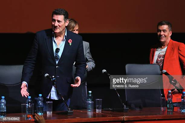 Tony Hadley Steve Norman and John Keeble attend the 'Soul Boys of the Western World' Press Conference during the 9th Rome Film Festival on October 20...