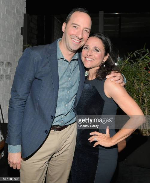 Tony Hale and Julia LouisDreyfus at Audi Celebrates the 69th Emmys at The Highlight Room at Dream Hollywood on September 14 2016 in Hollywood...