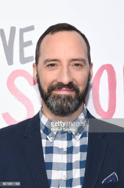 "Tony Hale attends a special screening of 20th Century Fox's ""Love, Simon"" at Westfield Century City on March 13, 2018 in Los Angeles, California."