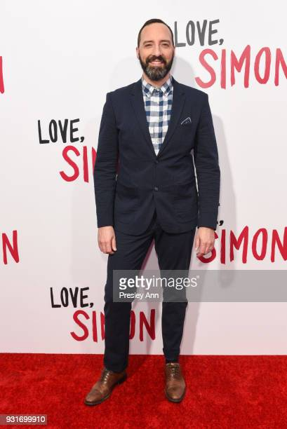 Tony Hale attends Special Screening Of 20th Century Fox's 'Love Simon' Arrivals at Westfield Century City on March 13 2018 in Century City California
