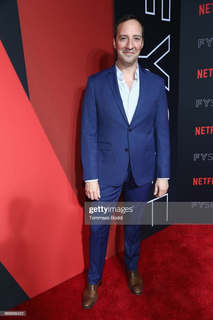 Tony Hale attends the Netflix FYSEE Kick-Off Event at Netflix FYSEE At Raleigh Studios on May 6, 2018 in Los Angeles, California.