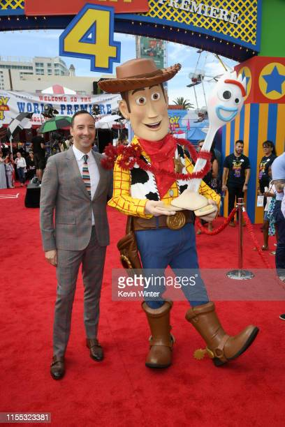 Tony Hale attends the premiere of Disney and Pixar's Toy Story 4 on June 11 2019 in Los Angeles California