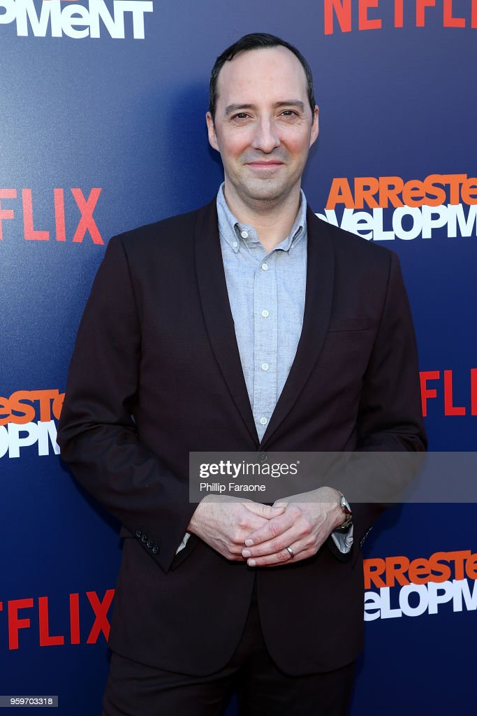 Tony Hale attends the premiere of Netflix's 'Arrested Development' Season 5 at Netflix FYSee Theater on May 17, 2018 in Los Angeles, California.