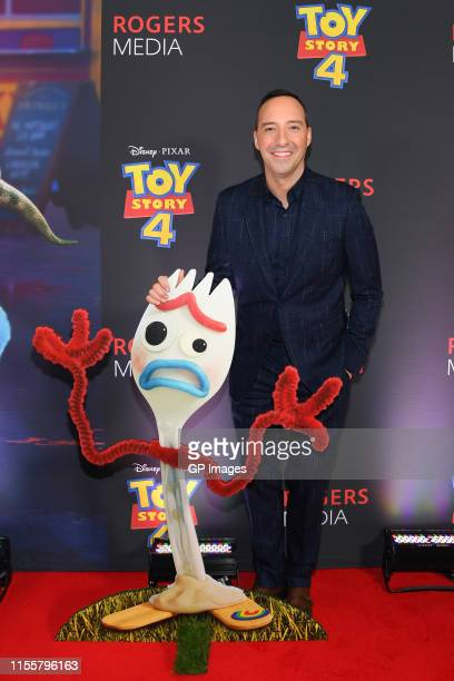 Tony Hale attends the 'Toy Story 4' Canadian Premiere held at Scotiabank Theatre on June 13, 2019 in Toronto, Canada.
