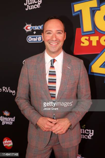 Tony Hale attends the world premiere of Disney and Pixar's TOY STORY 4 at the El Capitan Theatre in Hollywood CA on Tuesday June 11 2019