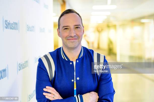 Tony Hale discusses Toy Story 4 and Veep with You Up W/Nikki Glaser at SiriusXM Studios on June 17 2019 in New York City