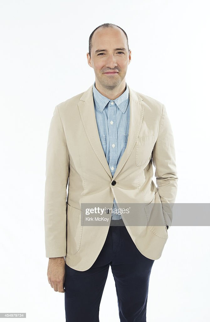 Tony Hale is photographed for Los Angeles Times on August 25, 2014 in Los Angeles, California. PUBLISHED IMAGE.