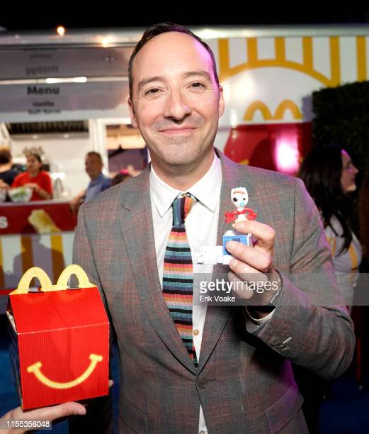 Tony Hale is seen as McDonald's treats guests to Happy Meals at the Toy Story 4 Premiere After Party at El Capitan Theatre on June 11 2019 in Los...