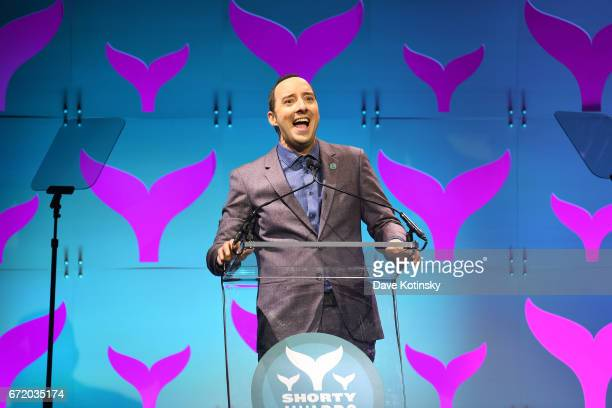 Tony Hale presents at the The 9th Annual Shorty Awards on April 23 2017 in New York City